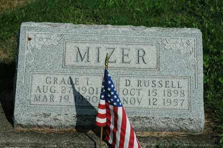 MIZER, D. RUSSELL - Coshocton County, Ohio | D. RUSSELL MIZER - Ohio Gravestone Photos