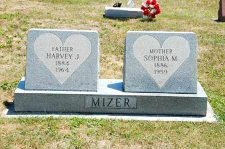 MIZER, HARVEY J. - Coshocton County, Ohio | HARVEY J. MIZER - Ohio Gravestone Photos