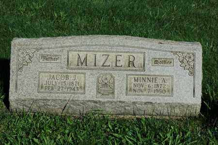MIZER, MINNIE A. - Coshocton County, Ohio | MINNIE A. MIZER - Ohio Gravestone Photos