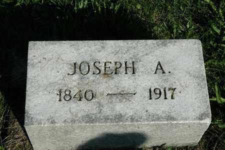 MIZER, JOSEPH A. - Coshocton County, Ohio | JOSEPH A. MIZER - Ohio Gravestone Photos