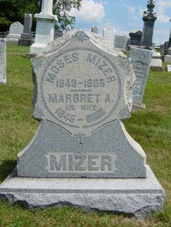 MIZER, MARGARET A. - Coshocton County, Ohio | MARGARET A. MIZER - Ohio Gravestone Photos