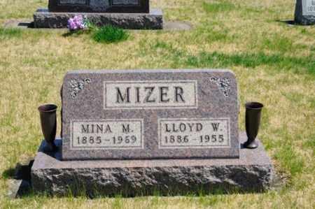 MULLET MIZER, MINA - Coshocton County, Ohio | MINA MULLET MIZER - Ohio Gravestone Photos