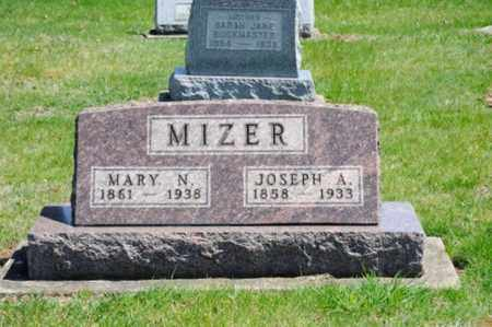 MIZER, MARY - Coshocton County, Ohio | MARY MIZER - Ohio Gravestone Photos