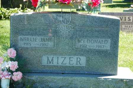 MIZER, NELLIE JANE - Coshocton County, Ohio | NELLIE JANE MIZER - Ohio Gravestone Photos