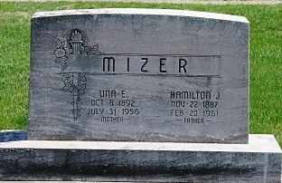 MIZER, UNA E. - Coshocton County, Ohio | UNA E. MIZER - Ohio Gravestone Photos