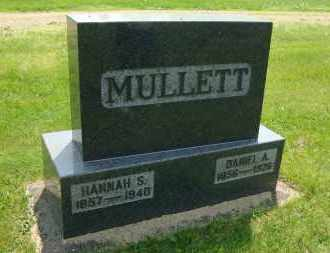 MULLETT, HANNAH (SEVERNS) - Coshocton County, Ohio | HANNAH (SEVERNS) MULLETT - Ohio Gravestone Photos