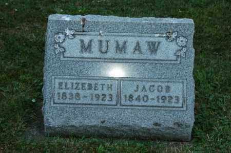 MUMAW, JACOB - Coshocton County, Ohio | JACOB MUMAW - Ohio Gravestone Photos