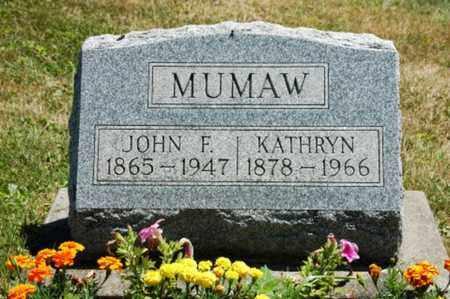 MUMAW, KATHRYN - Coshocton County, Ohio | KATHRYN MUMAW - Ohio Gravestone Photos