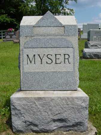 MYSER, NORA - Coshocton County, Ohio | NORA MYSER - Ohio Gravestone Photos