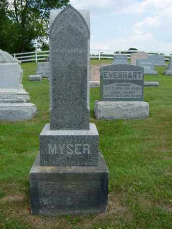 MYSER, CATHARINE A. - Coshocton County, Ohio | CATHARINE A. MYSER - Ohio Gravestone Photos