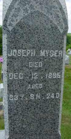 MYSER, JOSEPH - Coshocton County, Ohio | JOSEPH MYSER - Ohio Gravestone Photos