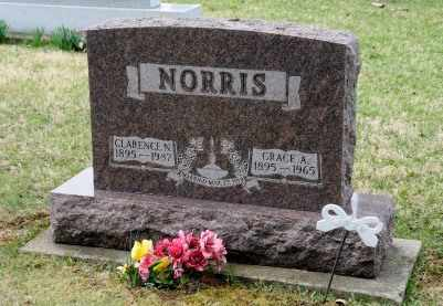 NORRIS, CLARENCE N. - Coshocton County, Ohio | CLARENCE N. NORRIS - Ohio Gravestone Photos