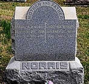 NORRIS, MAHALA - Coshocton County, Ohio | MAHALA NORRIS - Ohio Gravestone Photos