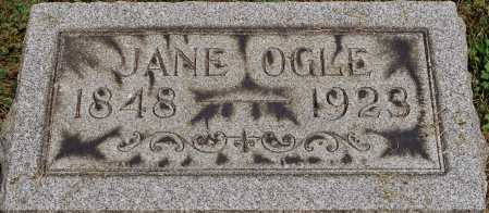 OGLE, JANE - Coshocton County, Ohio | JANE OGLE - Ohio Gravestone Photos