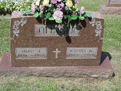 OLINGER, JOHN J. - Coshocton County, Ohio | JOHN J. OLINGER - Ohio Gravestone Photos