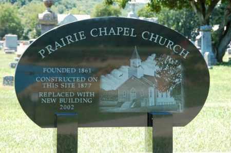 PRAIRIE, CHAPEL - Coshocton County, Ohio | CHAPEL PRAIRIE - Ohio Gravestone Photos