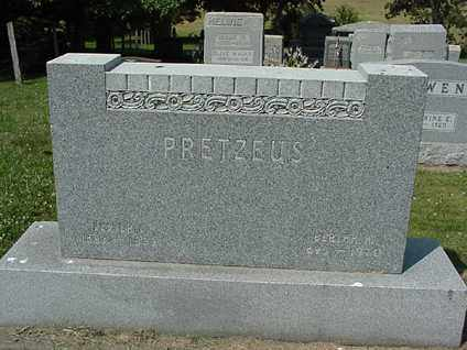 PRETZEUS, BERTHA - Coshocton County, Ohio | BERTHA PRETZEUS - Ohio Gravestone Photos