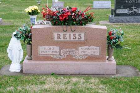 REISS, LUCILLE - Coshocton County, Ohio | LUCILLE REISS - Ohio Gravestone Photos