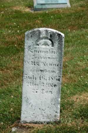 RENNER, EMMALINE - Coshocton County, Ohio | EMMALINE RENNER - Ohio Gravestone Photos