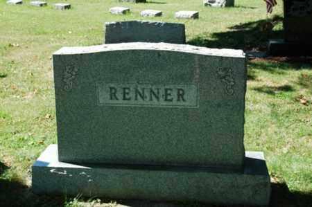 RENNER, ALLEN T. - Coshocton County, Ohio | ALLEN T. RENNER - Ohio Gravestone Photos