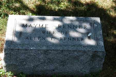 HATHAWAY RENNER, MAYME - Coshocton County, Ohio | MAYME HATHAWAY RENNER - Ohio Gravestone Photos
