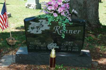 RENNER, WILLIAM A. - Coshocton County, Ohio | WILLIAM A. RENNER - Ohio Gravestone Photos