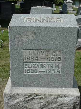 RINNER, LLOYD C. - Coshocton County, Ohio | LLOYD C. RINNER - Ohio Gravestone Photos