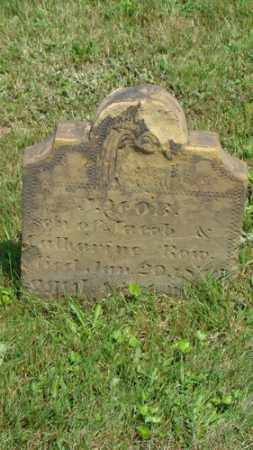 ROW, JACOB - Coshocton County, Ohio | JACOB ROW - Ohio Gravestone Photos