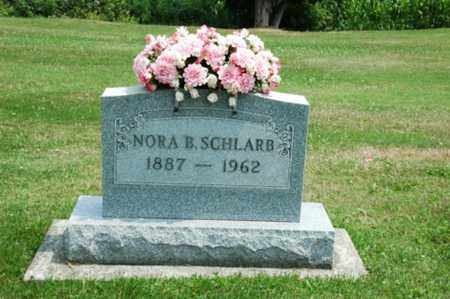 SCHLARB, NORA B. - Coshocton County, Ohio | NORA B. SCHLARB - Ohio Gravestone Photos