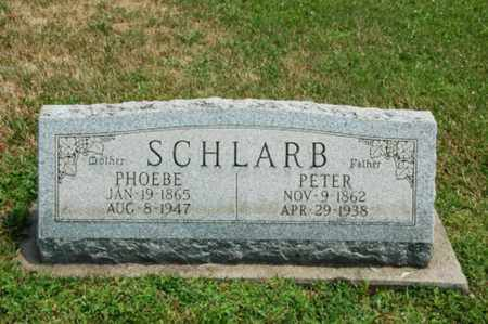 SCHLARB, PHOEBE - Coshocton County, Ohio | PHOEBE SCHLARB - Ohio Gravestone Photos