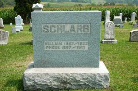 SCHLARB, WILLIAM - Coshocton County, Ohio | WILLIAM SCHLARB - Ohio Gravestone Photos