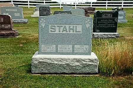 STAHL, SIMON W. - Coshocton County, Ohio | SIMON W. STAHL - Ohio Gravestone Photos