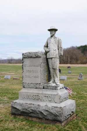 STANTON, JOHN WESLEY - Coshocton County, Ohio | JOHN WESLEY STANTON - Ohio Gravestone Photos