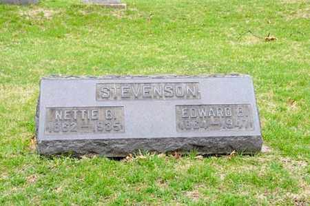 STEVENSON, EDWARD B. - Coshocton County, Ohio | EDWARD B. STEVENSON - Ohio Gravestone Photos