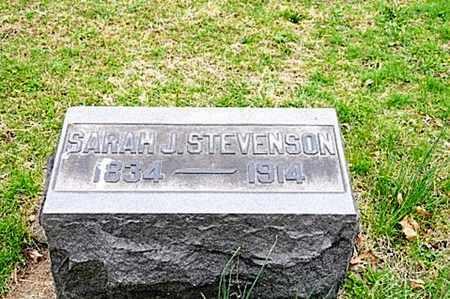 STEVENSON, SARAH J. - Coshocton County, Ohio | SARAH J. STEVENSON - Ohio Gravestone Photos