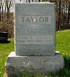 TAYLOR, SAMUEL E. - Coshocton County, Ohio | SAMUEL E. TAYLOR - Ohio Gravestone Photos