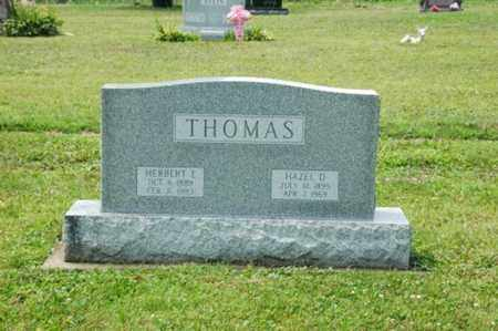 THOMAS, HAZEL D. - Coshocton County, Ohio | HAZEL D. THOMAS - Ohio Gravestone Photos