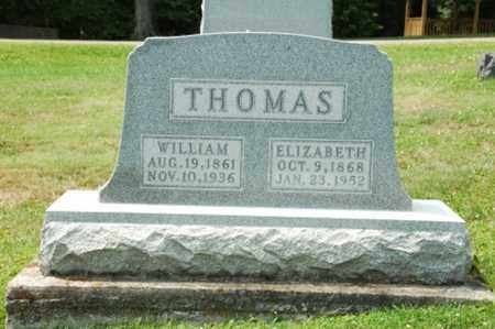 THOMAS, ELIZABETH - Coshocton County, Ohio | ELIZABETH THOMAS - Ohio Gravestone Photos