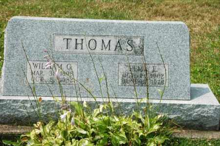 RIDENOUR THOMAS, ELMA E. - Coshocton County, Ohio | ELMA E. RIDENOUR THOMAS - Ohio Gravestone Photos