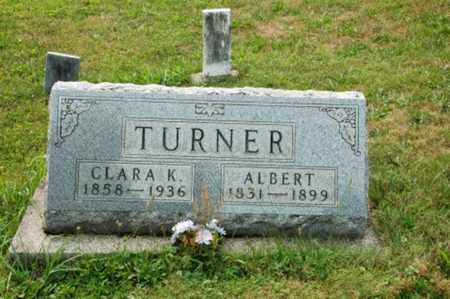 TURNER, ALBERT - Coshocton County, Ohio | ALBERT TURNER - Ohio Gravestone Photos