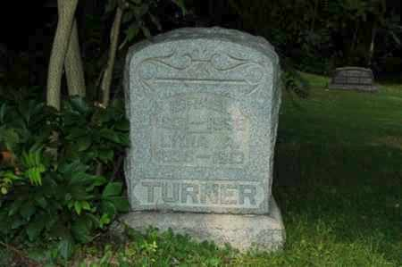 TURNER, LYDIA A. - Coshocton County, Ohio | LYDIA A. TURNER - Ohio Gravestone Photos