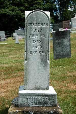 TURNER, SUSANNAH - Coshocton County, Ohio | SUSANNAH TURNER - Ohio Gravestone Photos