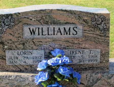 WILLIAMS, IRENE - Coshocton County, Ohio | IRENE WILLIAMS - Ohio Gravestone Photos
