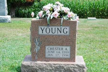 YOUNG, CHESTER A. - Coshocton County, Ohio | CHESTER A. YOUNG - Ohio Gravestone Photos