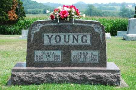 YOUNG, CLARA - Coshocton County, Ohio | CLARA YOUNG - Ohio Gravestone Photos