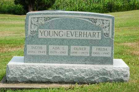 YOUNG EVERHART, FREDA - Coshocton County, Ohio | FREDA YOUNG EVERHART - Ohio Gravestone Photos