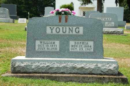 MARHOFER YOUNG, SOPHIA - Coshocton County, Ohio | SOPHIA MARHOFER YOUNG - Ohio Gravestone Photos