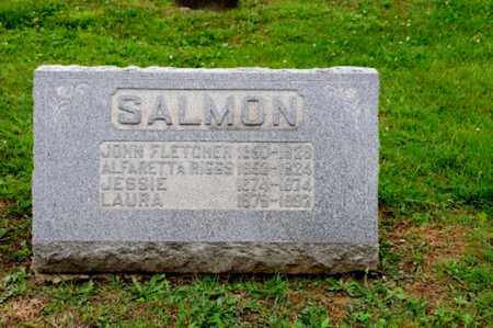 SALMON, LAURA - Coshocton County, Ohio | LAURA SALMON - Ohio Gravestone Photos