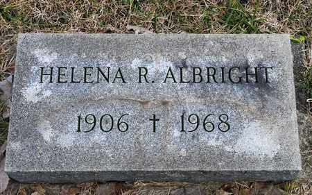 ALBRIGHT, HELENA R - Crawford County, Ohio | HELENA R ALBRIGHT - Ohio Gravestone Photos