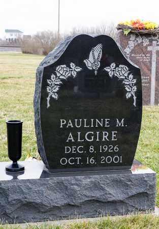 ALGIRE, PAULINE M - Crawford County, Ohio | PAULINE M ALGIRE - Ohio Gravestone Photos